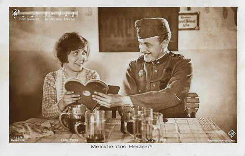 Willy Fritsch and Dita Parlo in Melodie des Herzens (1929)