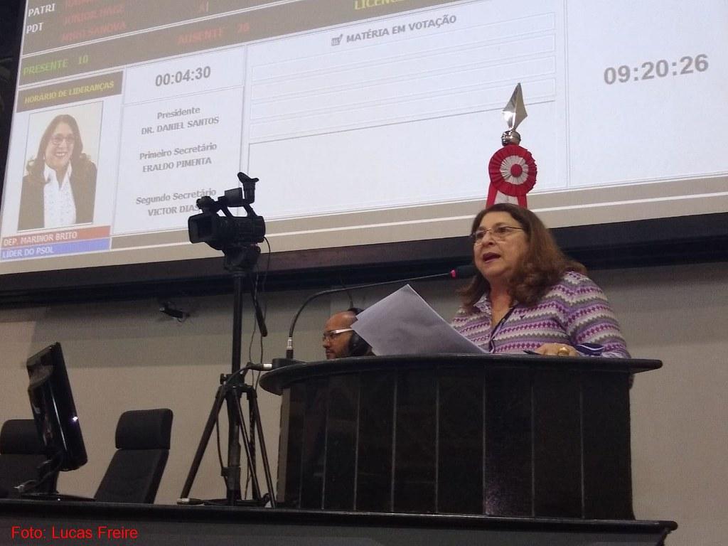 Deputada cobra do MP a devolução do Teatro Victória à Prefeitura de Santarém, Marinor Brito