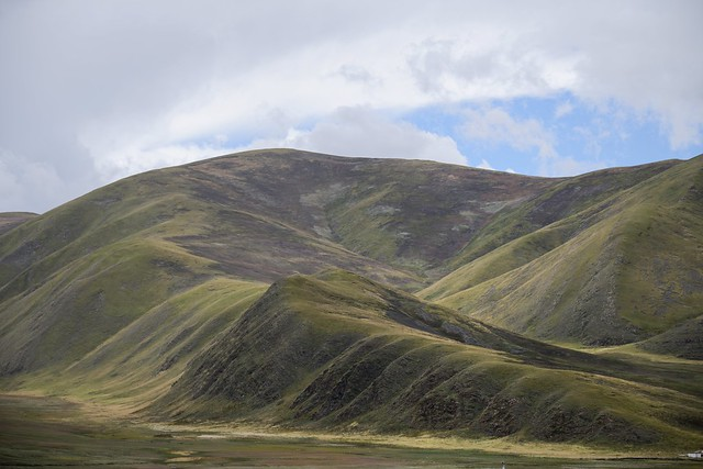 Sershul county landscape, Tibet 2018