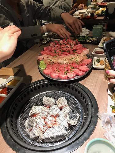 肉と日本酒  谷中