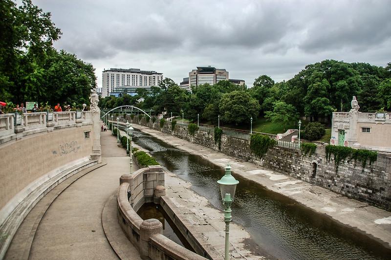 The Wienfluss in the Stadtpark 2