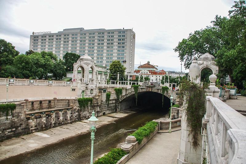 The Wienfluss in the Stadtpark 1