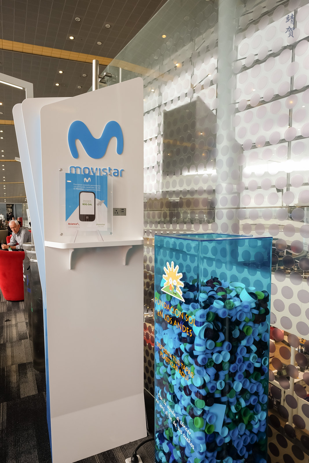 Movistar charging stations