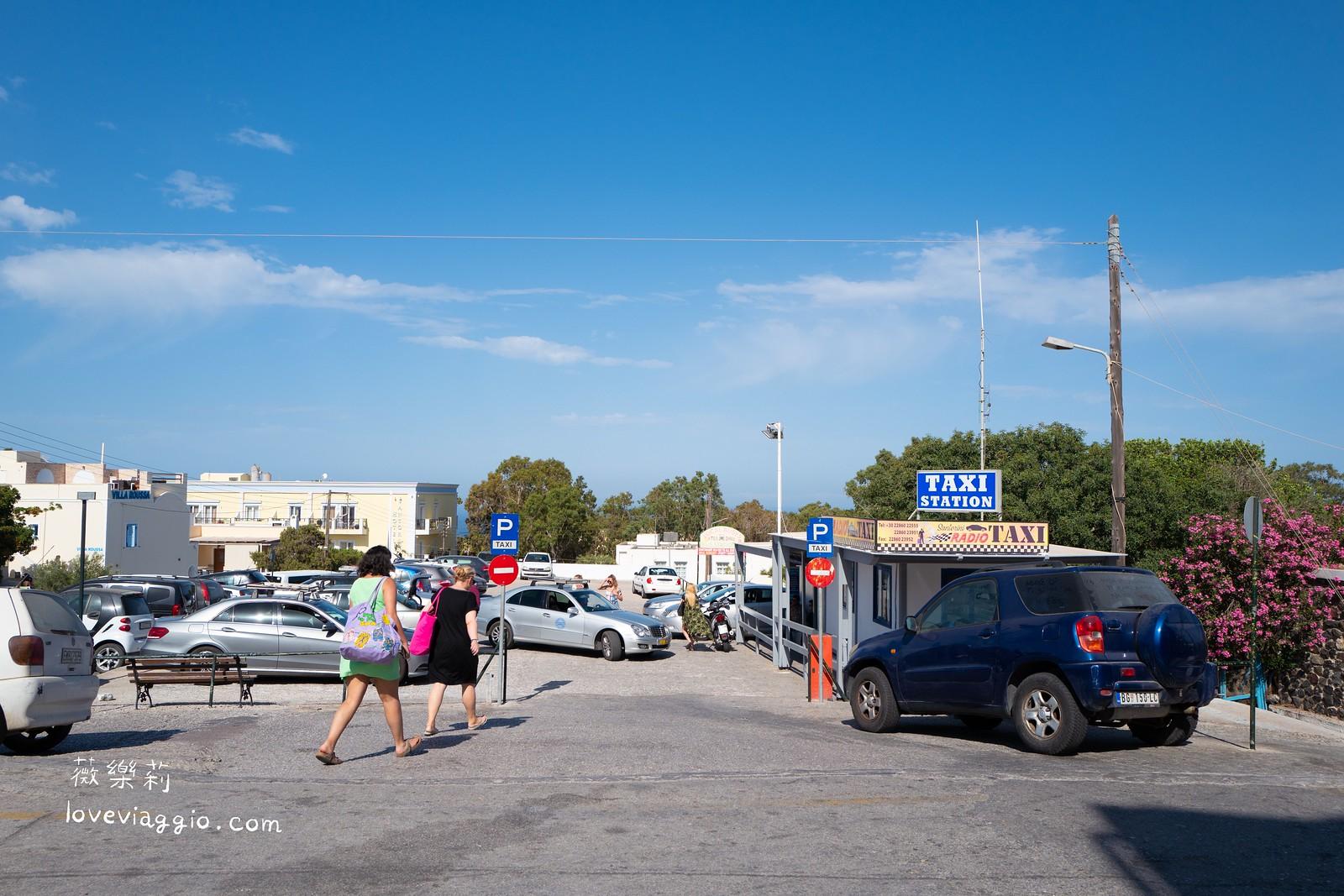 【希臘聖托里尼 Santorini】Athinios港口搭車到費拉巴士總站 小島交通巴士分享 @薇樂莉 Love Viaggio | 旅行.生活.攝影