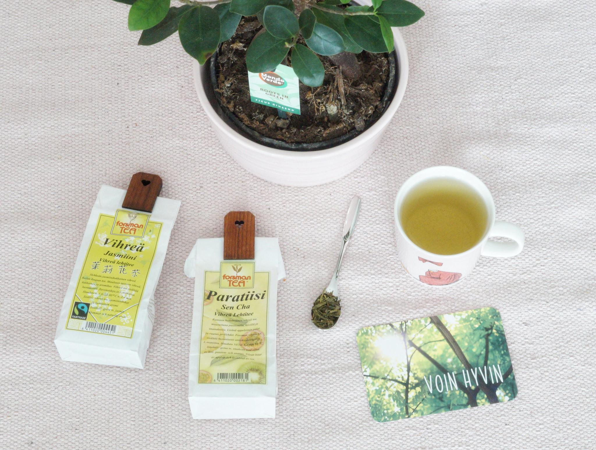 vihreä tee terveysvaikutukset