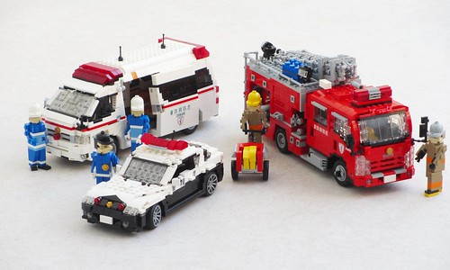Tokyo emergency vehicles | by Mad physicist