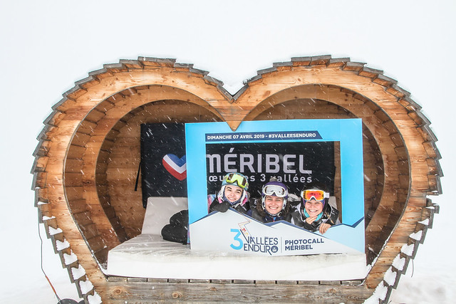 3 VALLÉES ENDURO 2019 - PHOTOCALL MÉRIBEL