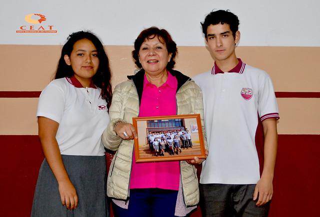 Despedida de Miss Angélica Sanhueza