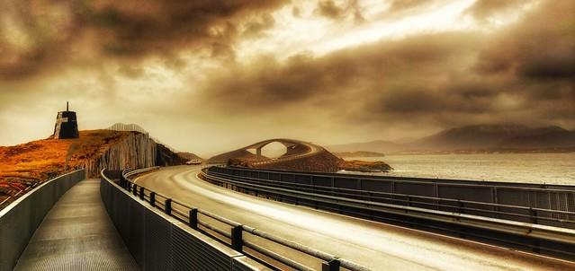 -The Atlantic Ocean Road -