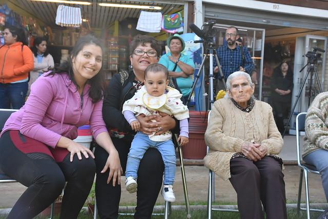 Reconocimiento Teresa Aguilera de 101 años Illapel