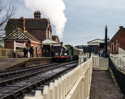 Locomotive 263 Departing Sheffield Park Station 2