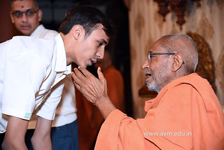 Std-10-11-12-visit-to-Haridham-for-Swamishree's-Blessings-(68) | by Atmiya Vidya Mandir