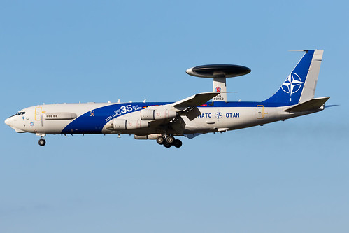NATO - Boeing E3-A Sentry - LX-N90450 | by Jesse Vervoort