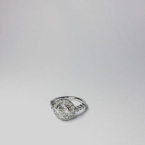Platinum Engagement Ring 1