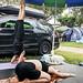 Yoga na kampingu by Yoga w Chmurach