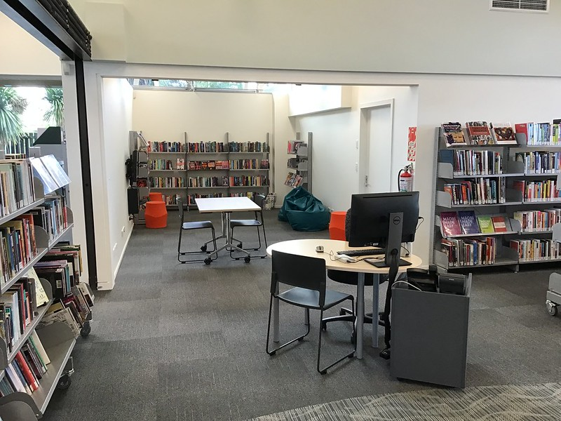 Young Adults area, Parklands Library
