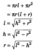 Surface Areas and Volumes Class 9 Notes Maths Chapter 13 5