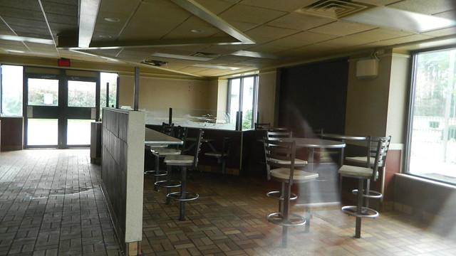 McDonald's interior (closed)