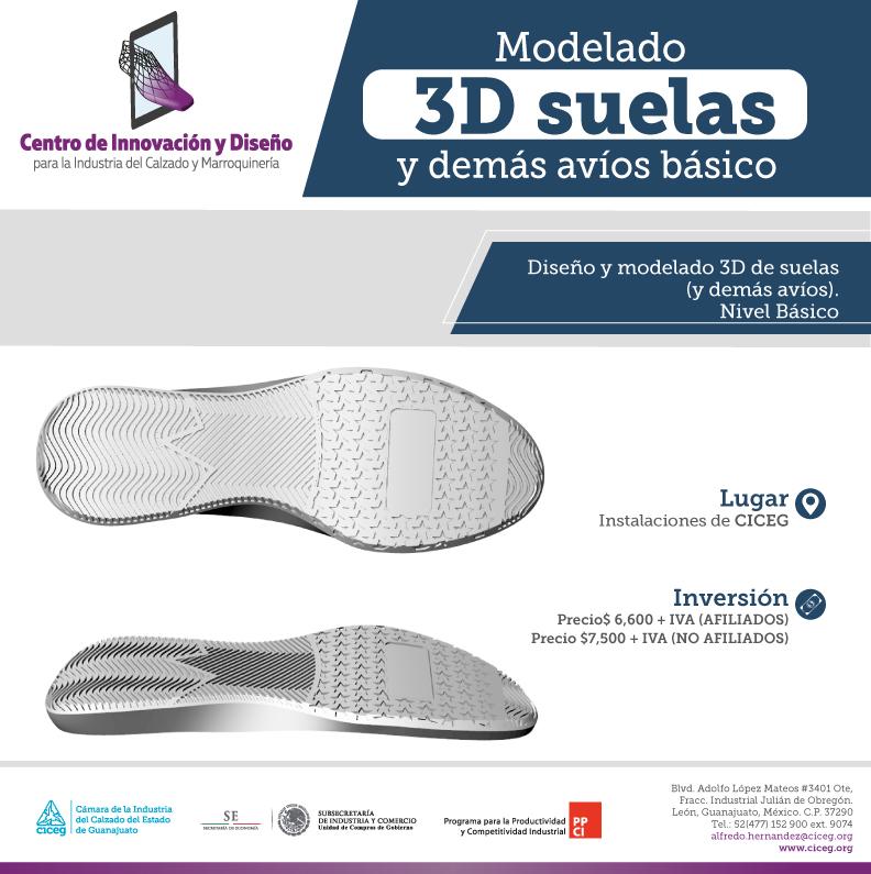 8. MODELADO 3D DE SUELAS Y DEMÁS AVÍOS BÁSICO