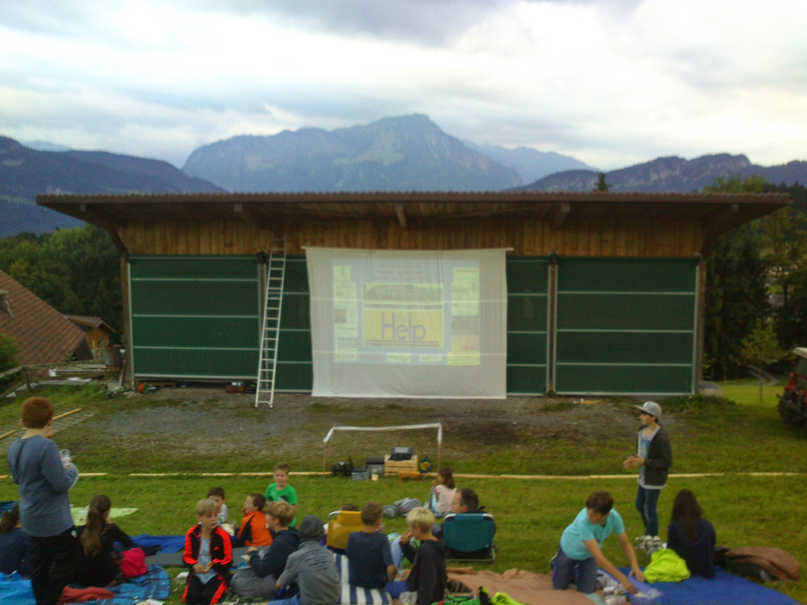 Fotos vom Open-Air-Kino, 22. August 2014