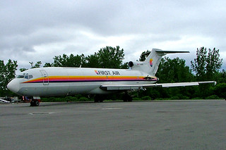 C-GYFA   Boeing 727-2H3F [21234] (First Air) Ottawa-Macdonald Cartier Int'l~C 18/06/2005. Stored and used by fire service
