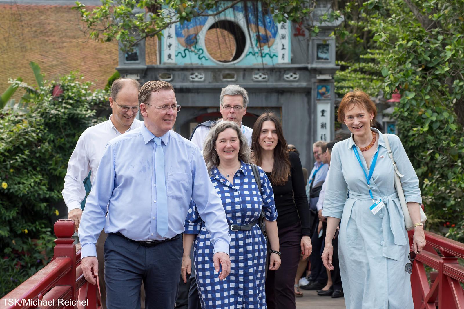 2019-04 Vietnamreise des Thüringer Ministerpräsidenten