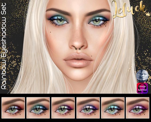 [LeLuck]Rainbow Eyeshadow Set