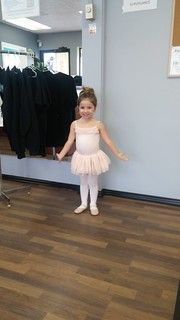Maisie - first day tiny stars 2017   by FreeFlightDanceCo