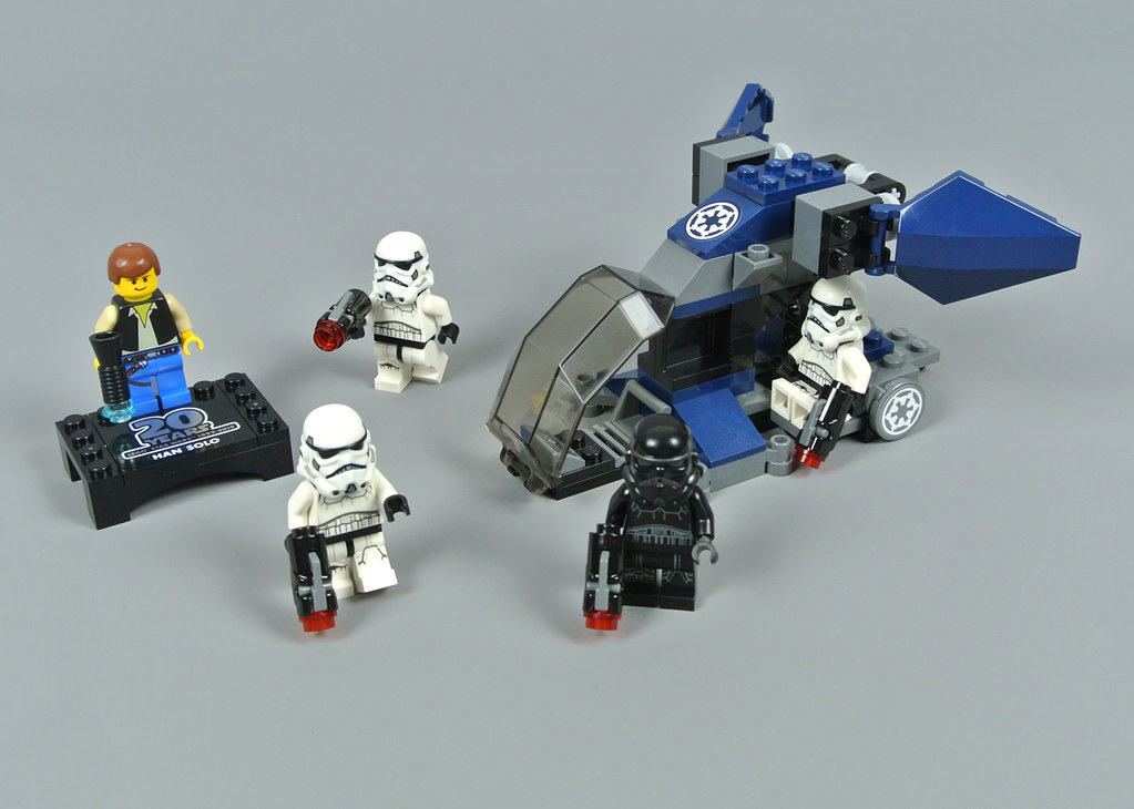 LEGO STAR WARS 75262 IMPERIAL DROPSHIP 20TH ANNIVERSARY STORMTROOPERS HAN SOLO