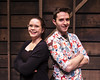 Meg Schenk (left) Playwright Smudge Connor French (Right) Playwright Just a Shack in The Woods in