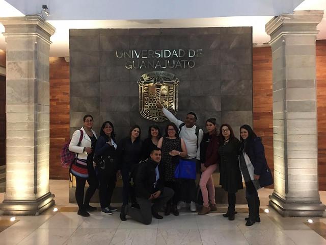 Embajadores UNIMINUTO - Movilidad internacional Universidad de Guanajuato - México