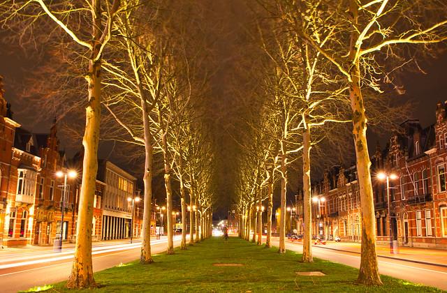 practicing nightfotography. Den Bosch City centre
