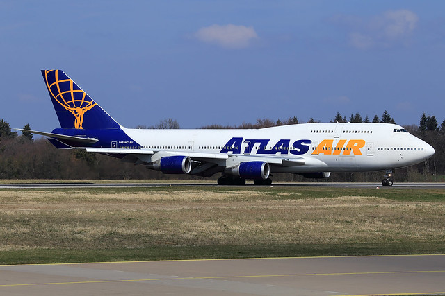 Atlas Air  Boeing 747-446 N465MC
