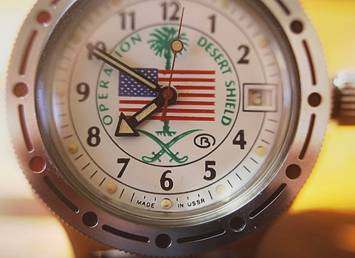 Rare Vostok Operation Desert Shield Watch