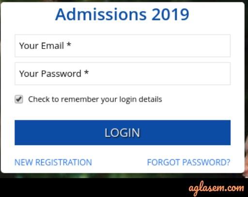 SRM Slot Booking 2019