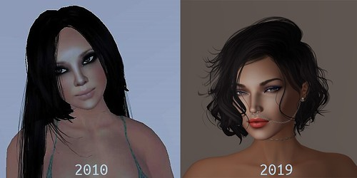 Allegra then and now   by Allegra Serendipity