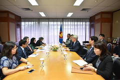 Courtesy call by Vice Minister of ROK