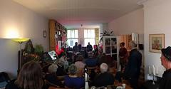 John Frick Four #glurenbijdeburen #concert #livingroomconcert #huiskamerconcert #panorama
