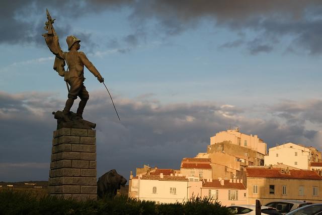 Denkmal der Freiheitskämpfer in Bonifacio