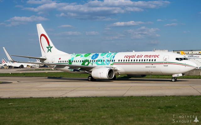 ORY | Royal Air Maroc 'Wings of African Art' Boeing 737-800 | CN-RGG