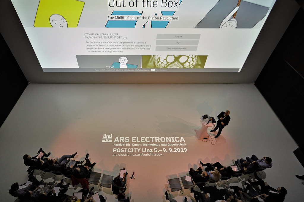 Press Conference 2019 Ars Electronica Festival   Photo taken