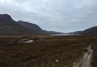 Beinn Dear Beag and Loch na Sealga | by malky_c