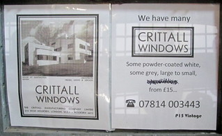 Advert for Critall Windows | by jackdeightonsf