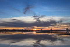 zonsondergang charreveld