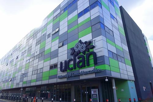 UCLan Media Factory at Preston   by Tony Worrall