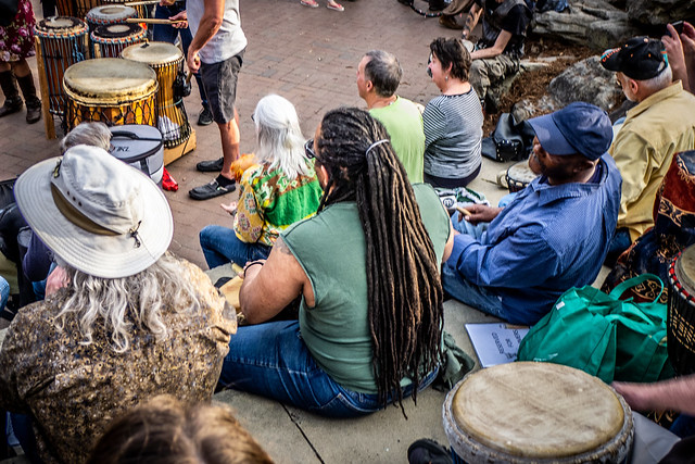 Asheville Drum Circle-39