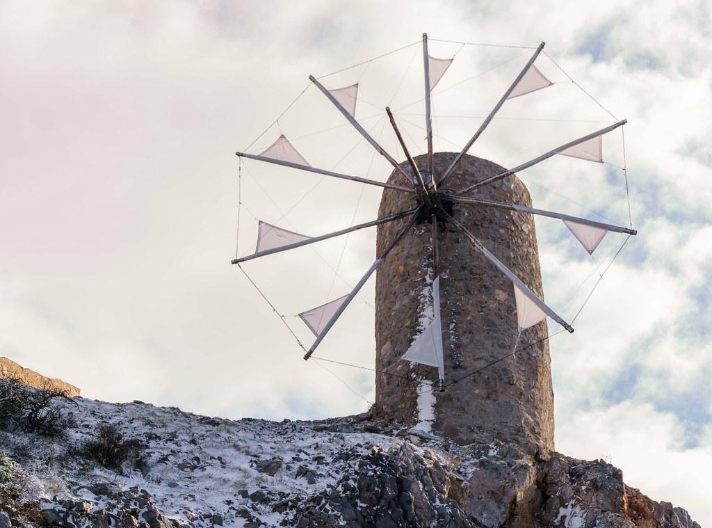 Snowy lasithi