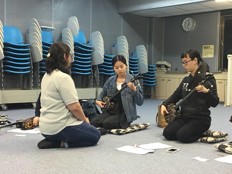 日本沖繩三線大師班