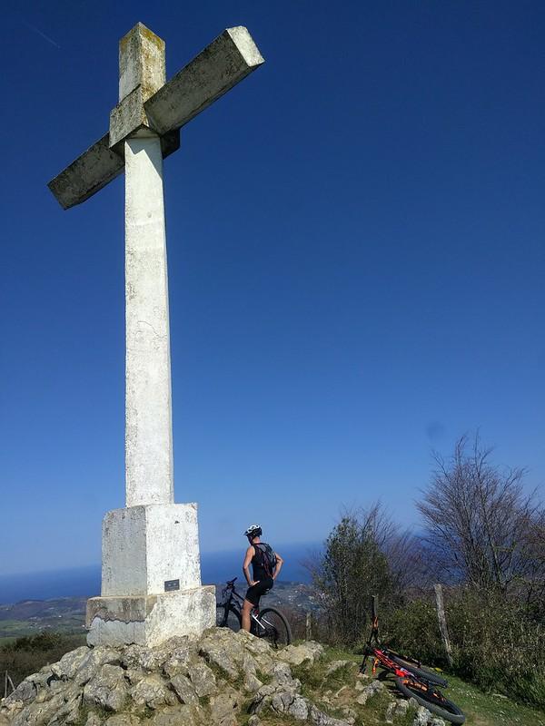 Cruz del Parque Natural de Pagoeta