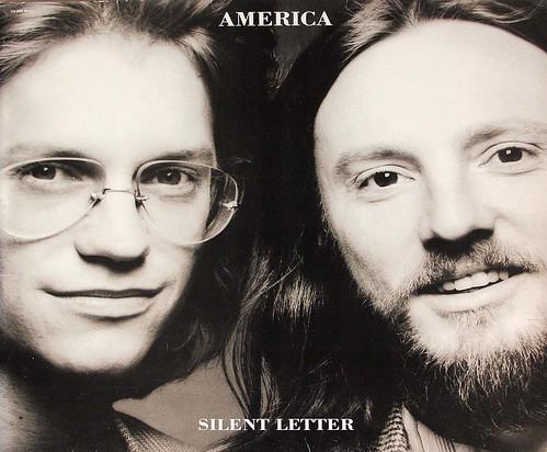 """AMERICA SILENT LETTER 12"""" LP VINYL"""